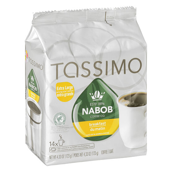 Tassimo Nabob Breakfast Blend - 14 servings