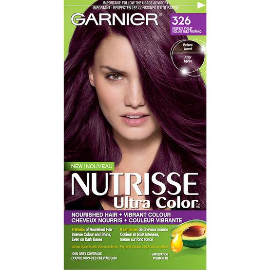 Garnier Nutrisse Ultra Color Permanent Hair Colour 326