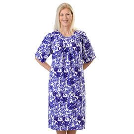 Silvert's Women's Easy-Fitting Open-Back Dress - 2XL - 3XL