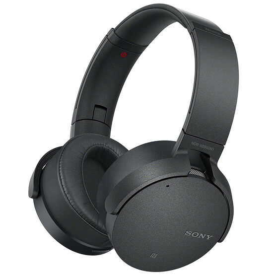 sony extra bass bluetooth noise cancelling headphones black mdrxb950n1b london drugs. Black Bedroom Furniture Sets. Home Design Ideas