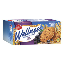 Wellness Whole Wheat Biscuits - Raisins - 210g