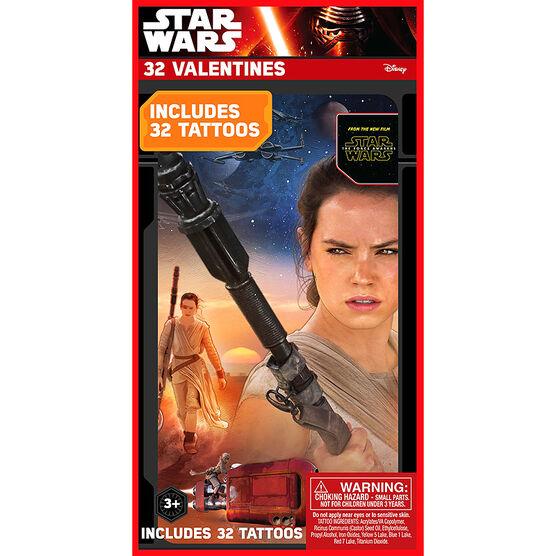 Star Wars Tattoo Valentines - 32s - 4154025