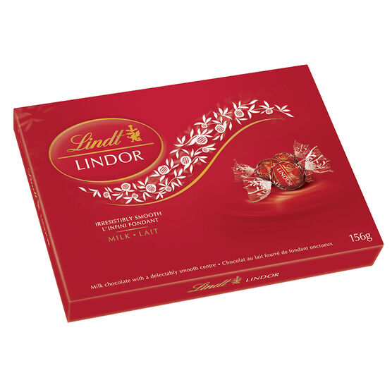 Lindt Lindor - Milk Chocolate - 156g Box