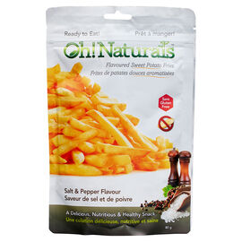 Oh Naturals Sweet Potato Fries - Salt & Pepper - 80g