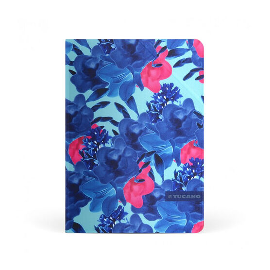 Tucano Angolo Folio Case for iPad Pro 9.7inch - Blue Flower - IPD7ANF-B
