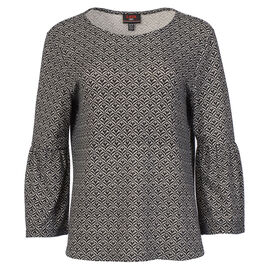 Lava Bell Sleeve Shirt - Black - Assorted