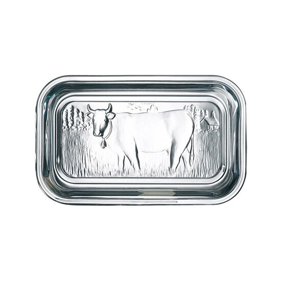 Luminarc Cow Butter Dish - 6.5 x 2.75in
