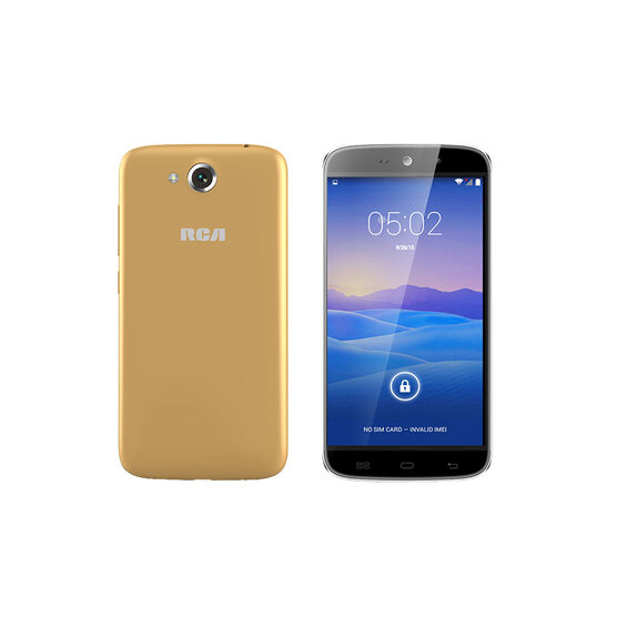 """RCA 5.5"""" Android Smartphone - Champagne - RLTP5567CH"""