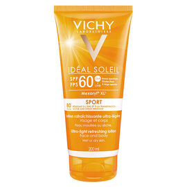 Vichy Ideal Soleil Sport - Ultra-Light Refreshing Lotion SPF 60 - 200ml