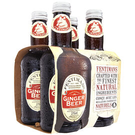 Fentimans Soft Drink - Ginger Beer - 4x275ml