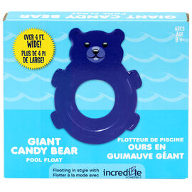 Candy Bear Pool Float - Blue