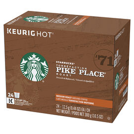 K-Cup Starbucks Coffee Pods - Pike Place - 24 pack