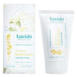 Lavido Aromatic Body Lotion - Mandarin, Orange & Bergamot - 120ml