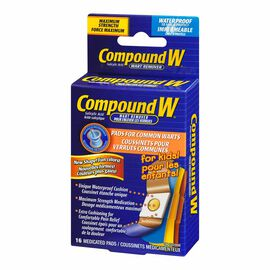 Compound W Kids Wart Remover Pads - 16's