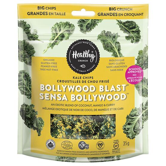 Healthy Crunch Kale Chips - Bollywood Blast - 35g