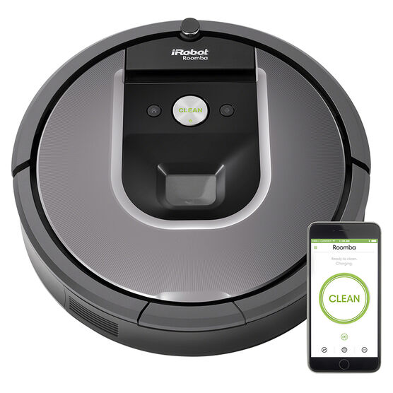 iRobot Roomba 960 Vacuum - Black - R960020