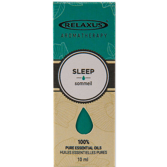 Relaxus Aromatherapy 100% Pure Essential Oils - Sleep Blend - 10ml