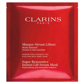 Clarins Super Restorative Instant Lift Serum Mask - 1 mask
