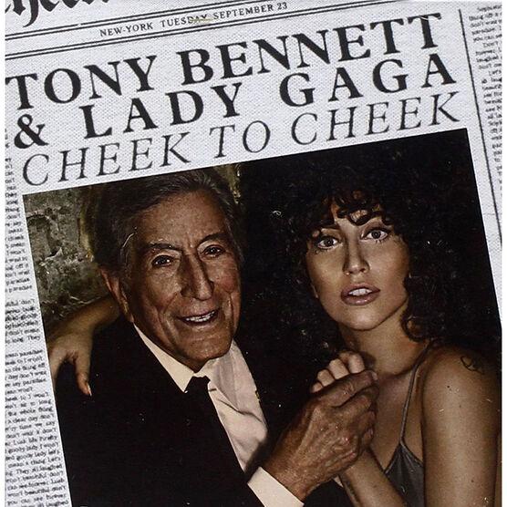 Tony Bennett & Lady Gaga - Cheek to Cheek - CD