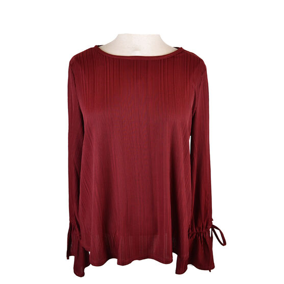 Lava Top with Sleeve Opening - Cabernet