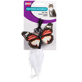 Fluttery Butterfly Teaser Cat Toy - Assorted
