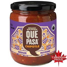 Que Pasa Organic Salsa - Chipotle - 420ml