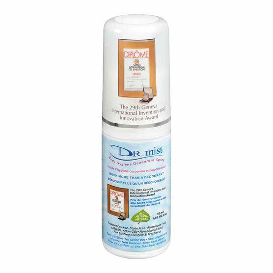 Dr. Mist Body Hygiene Deodorant Spray - 50ml