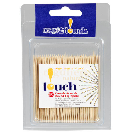 Touch Round Toothpicks - 250's