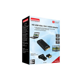 Diamond USB External Video Display Adapter - BVU165CA
