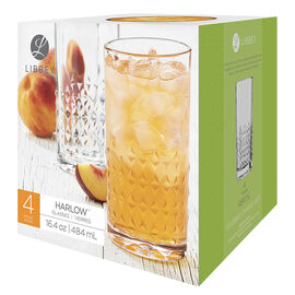 Libbey Harlow Cooler - 4 piece