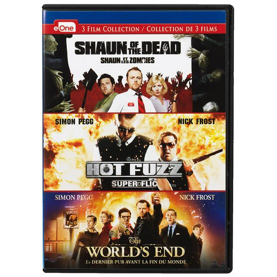 Shaun of the Dead / Hot Fuzz / The World's End - DVD