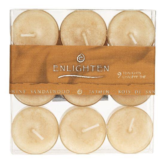 Enlighten Tealights - Jasmine Sandalwood - 9 pack