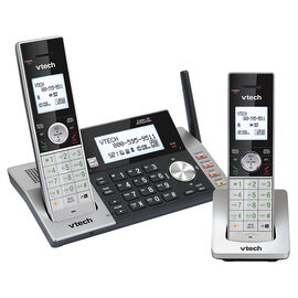 VTech 2 Handset Cordless Digital Answering System - Black - DS5151-2