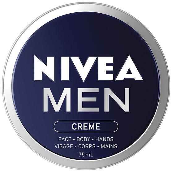Nivea Men Creme Face Body Hands - 75ml