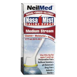 Neilmed NasaMist Saline Spray - Medium Stream - 177ml