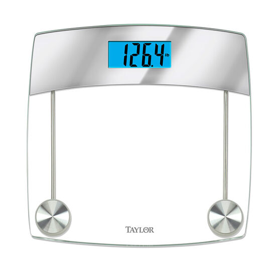Taylor Digital Glass Bathroom Scale - 75244193EF