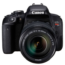 Canon Rebel T7i with 18-135mm STM Lens - Black - 1894C003