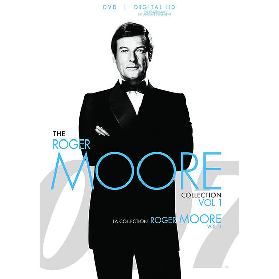 The Roger Moore 007 Collection: Vol. 1 - DVD