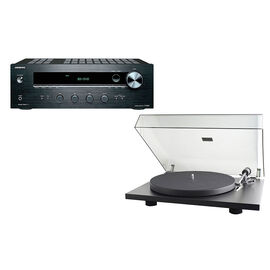 Pro-Ject RPM 1.3 Genie Turntable + Onkyo Stereo Receiver -PKG #17394