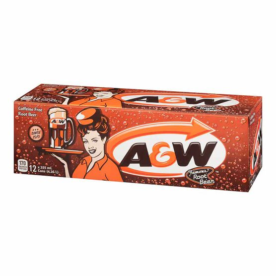 A&W Root Beer - Fridge Mate - 12 pack