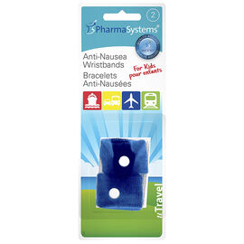 PharmaSystems U Travel Anti-Nausea Travel Wristbands -  Children's