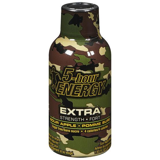 5-Hour Energy Shot Extra Strength - Sour Apple - 57ml