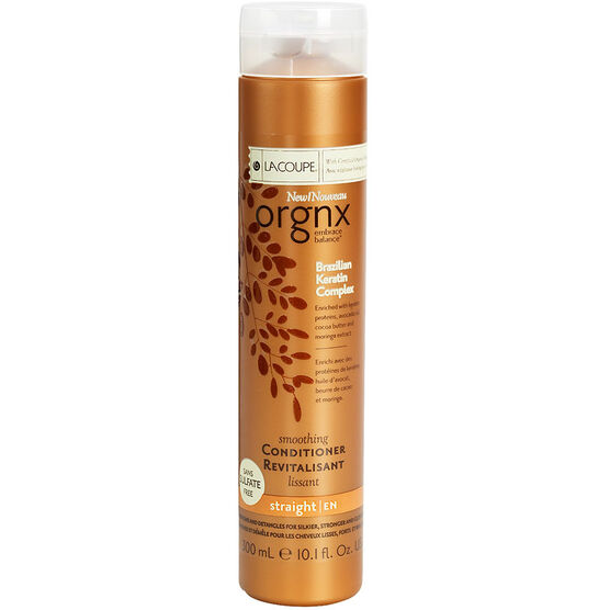 Orgnx Brazilian Keratin Complex Smoothing Conditioner - Straight - 300ml