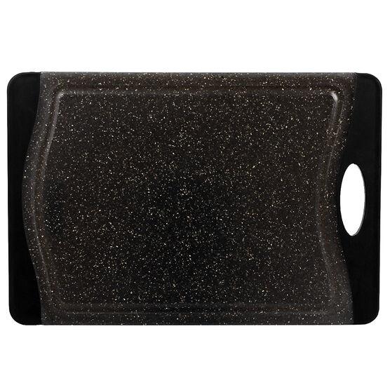 London Drugs Cutting Board - Black - 36.5 x 25 x 1cm