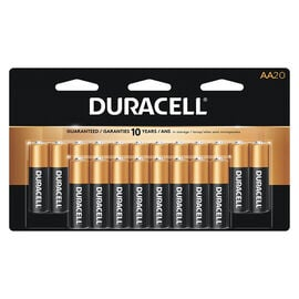 Duracell CopperTop AA Batteries - 20 pack