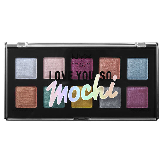 NYX Professional Makeup Love You So Mochi Shadow Palette - Electric Pastels