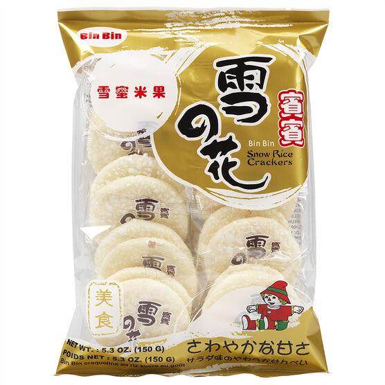 Bin Bin Snow Rice Cracker - 150g