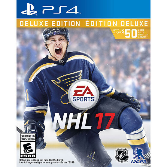 PS4 NHL 17 Deluxe Edition