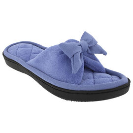 Isotoner Women's Microterry Open Toe Slipper