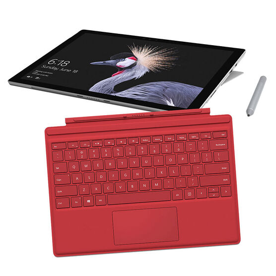 Microsoft Surface Pro i5 - 128GB Type Cover Bundle - Red - PKG #13728